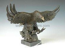 Lovely Shar Pei metal bronze sculpture western