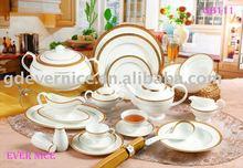 Gold Dinner Set Bone China