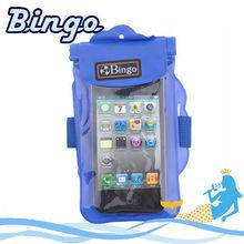 Bingo mobile phone accessories phone waterproof bag in swimming beach diving