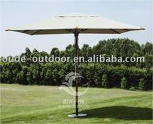 square hard wooden garden umbrella
