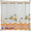 VOILE EMBROIDERY CAFE CURTAIN FABRIC