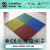 safety outdoor recycled colorful rubber tiles for palyground