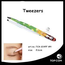 colorful lovely girl cosmetic tweezers