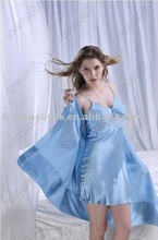 Soft silk fabric for sleeping wear
