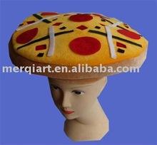 2014 novel high quality pizza sharp hats pizza caps