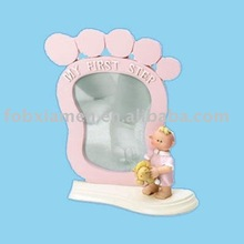 Foot print Shape Photo Picture Frame Wholesale