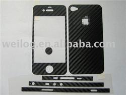 Fullbody Carbon Fiber Sticker for iPhone 4