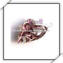 heart murano necklace pendants
