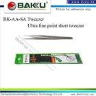 Ultra Fine Point Short Tweezer (BK-AA SA A3)
