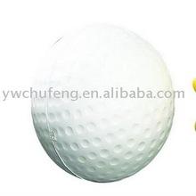 PU foam antistress golf antistress ball