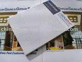 Acústico gypsum projeto teto, Pvc placa de gesso do teto