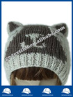 winter bear critter hat