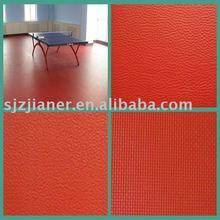 PVC Indoor Plastic Table Tennis Flooring