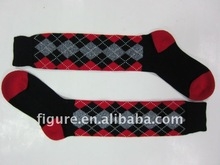 2012 spring new style knee high horse riding socks