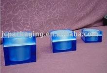 oval acrylic jar(cream jar)