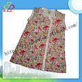 Novos produtos 100% algodão modainfantil vestido da menina para o verão