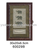 wooden key box/ wooden key cabinet/home decoration, ELEPHANT style! PERFECT!