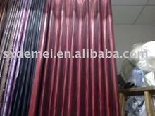 decorative sun protection theatre curtain --- double fabric