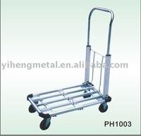 Premium 4-Wheel Aluminum Flatbed Carts 100Kg Capacity PH1003AL