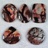 C233 African Pink Agate Cabochon CAB semi-precious gemstone