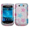 Phone case phone accessories Rhinstone Diamond bling crystal case for blackberry Torch 9800