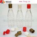 300ml garrafa pet para óleo com um flip top tampa de plástico
