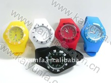 silicone health sports water resistant watch for promation in 2011