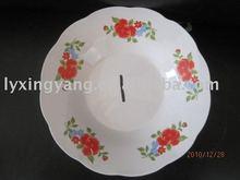 porcelain deep plate, soup plate