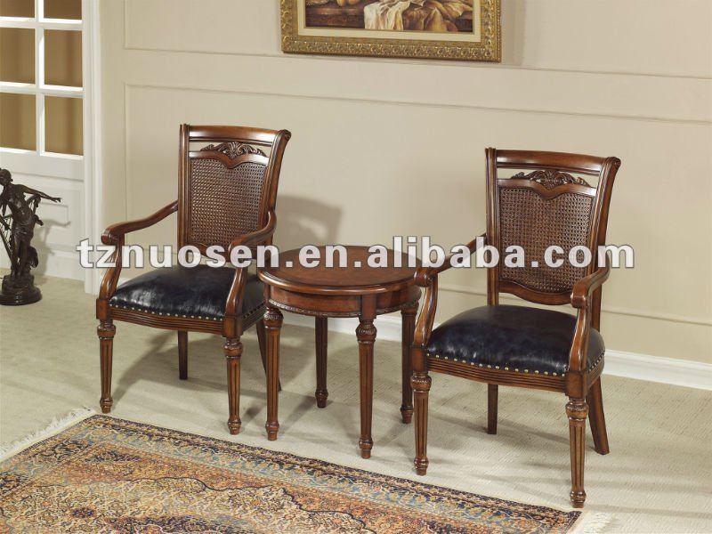 - antique_livingroom_wood_high_chairs_tea_table