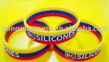 2012 fashion promotional gifts wristband/silicone bracelet