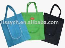 2012 PET non woven foldable bag