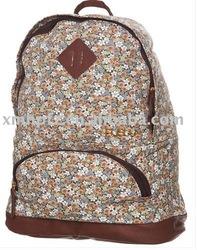 Fashion 10OZ Cotton Canvas Student Backpack Bag