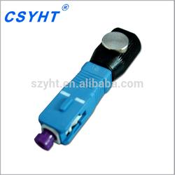 SC bare fiber optical adapter