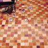 Mosaic wood parquet flooring