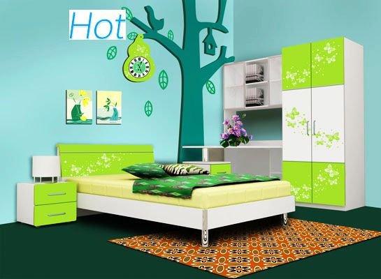 2011 New Design-children bedroom furniture-E1 MDF+UV finish ...
