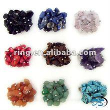 adjustable handmade Natural bead gemstone rings