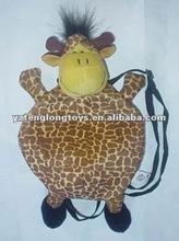 Cute Giraffe Child Animal Plush Bag Toy