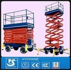 Adjustable Height working Platform Cart