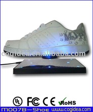 magnetic levitating pop display anti gravity display floating shoe display 400g max floating
