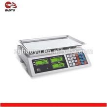 Digital 15kg 30kg 40kg LCD LED price weighing scales