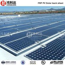 white back sheet solar panel