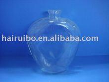 New design heart shape glass perfume for sale