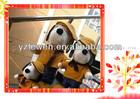 snoopy dog cartoon stuffed plush toy