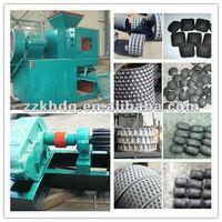Coal powder/dust briquette roller press