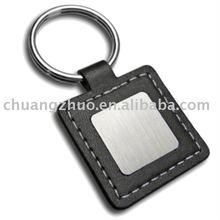 Nouveau Style métal carrée en cuir trousseau