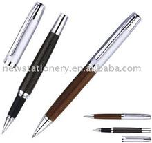 Leather metal ballpoint pen BINX2229