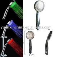 ABS plastic LED light shower