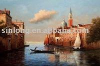 handmade beautiful scenery painting