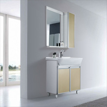 sell new design PVC and Ceramic bathroom cabinet PM800B+