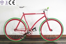 700c USA new frame steel single sport fixed gear bike